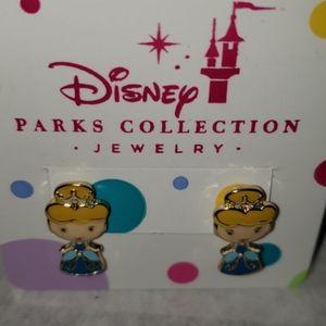 WDW Disney Parks Princess Cinderella Earrings NWT